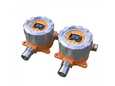 Fixed H2 gas detector hydrogen gas analyzer with alarm