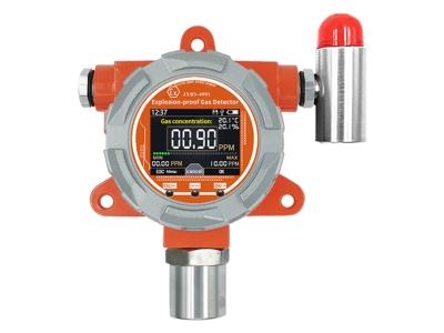 Fixed NO2 gas detector Nitrogen dioxide gas analyzer with alarm