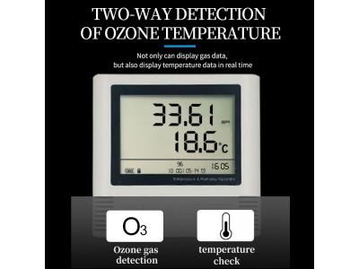 industrial grade ozone o3 detector o3 gas analyzer ozone detector with alarm