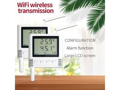 WiFi Temperature and Humidity meter sensor