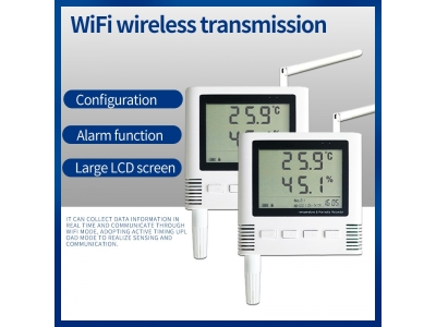 Wireless weahter station Temperature and Humidity meter sensor