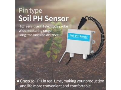 GPRS/4G/NB soil PH sensor/soil ph meter Soil pH measuring equipment