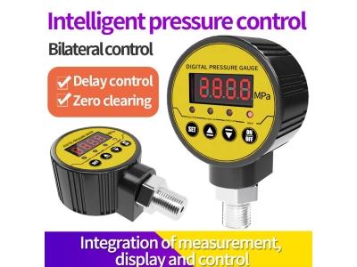 Smart digital pressure gauges with full intelligence, high precision