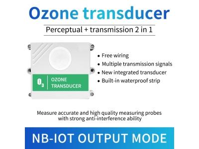 Lora/NB/4G/GPRS Ozone gas sensor O3 gas detector