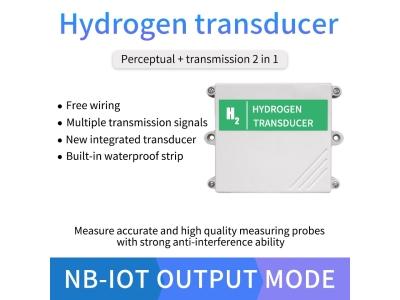 Lora/4g/NB/GPRS H2 gas sensor hydrogen gas detector with high quality