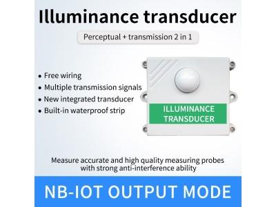 Lora/4g/GPRS/NB light detector Illuminance analyzer light sensor Real-time data with cloud server