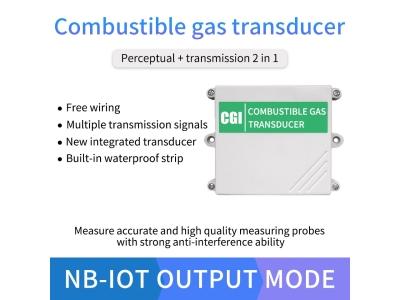 Lora/NB/4G/GPRS lel gas detector flammable gas sensor combustion gas analyzer for school,factory
