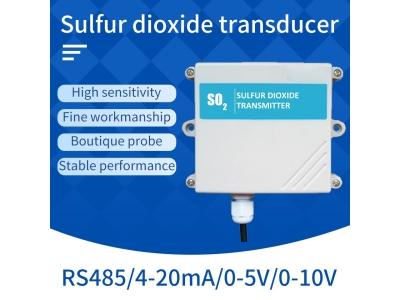 RS485/4-20mA So2 gas sensor Pollution gas monitoring