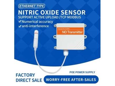 Ethernet DC/POE+RJ45 NO gas sensor Nitric oxide wireless sensor