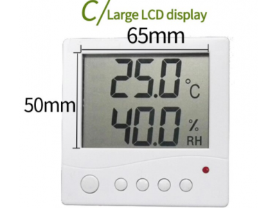temperature and humidity meter sensor with LCD screen