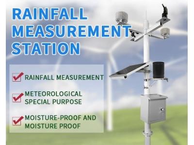 Professional weather station, rainfall station Rainfall monitoring station rainfall measurement
