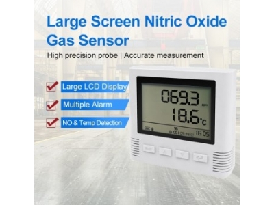 LCD large screen wall-mounted  NO/ NO2 Nitrogen Dioxide/ Nitric Oxide Detector Industiral Gas Sensor