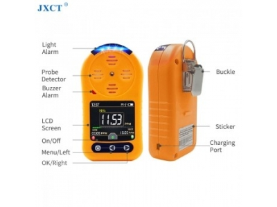 Portable NH3 Gas Sensor Industrial Alarm Ammonia Gas Monitor