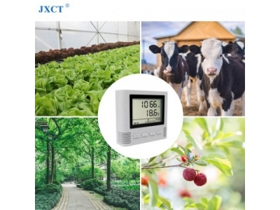 LCD Screen Type CO2 Gas Sensor Carbon Dioxide Monitor with Alarm