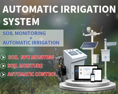 Automatic irrigation system based on soil sensor