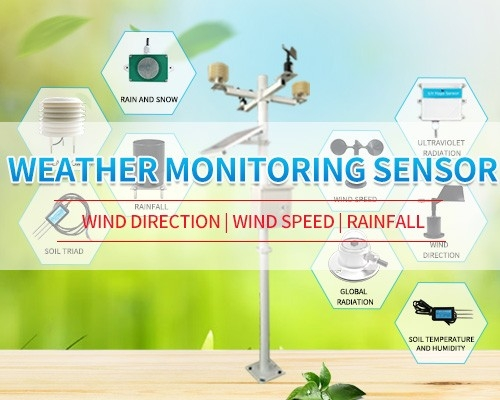 Weather station sensor weather instruments Wind speed sensor  Temperature and humidity sensor  weather  sensors